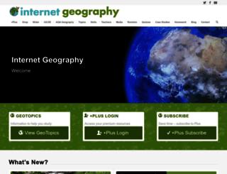geography.learnontheinternet.co.uk screenshot