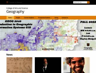 geography.missouri.edu screenshot