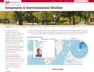 geography.unm.edu screenshot