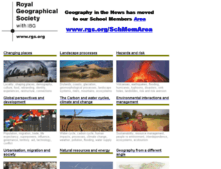 geographyinthenews.rgs.org screenshot