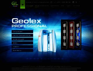 geolex-geolex.ru screenshot