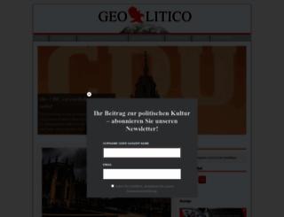 geolitico.de screenshot