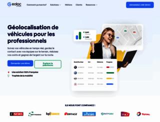 geoloc-systems.com screenshot