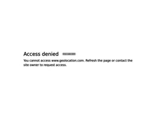 geolocation.com screenshot