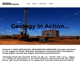 geological-exploration.co.uk screenshot