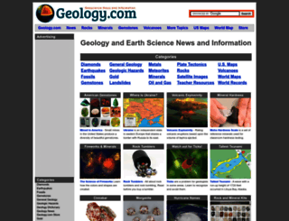 geology.com screenshot