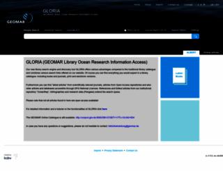 geomar-search.kobv.de screenshot