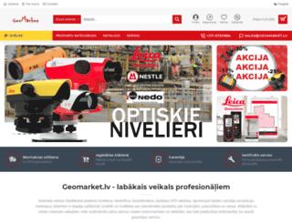 geomarket.lv screenshot