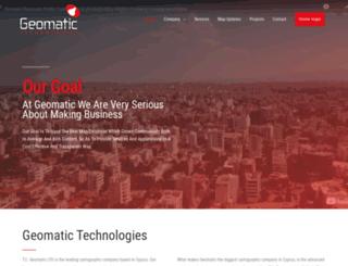 geomatic.com.cy screenshot
