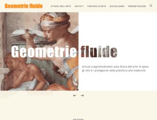 geometriefluide.com screenshot