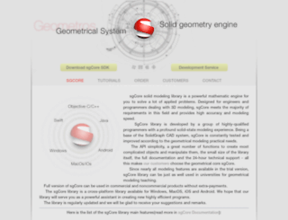 geometros.com screenshot