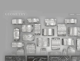 geometryrings.ru screenshot