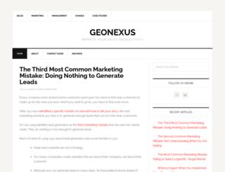 geonexus.com screenshot