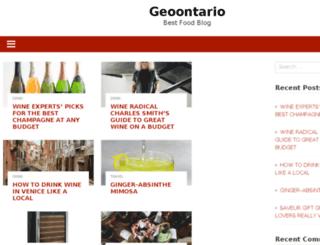 geoontario.com screenshot