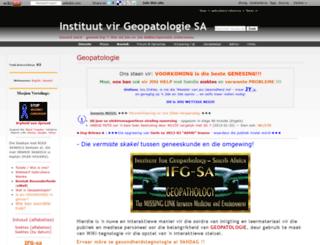 geopatologie-za.wikidot.com screenshot