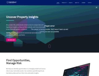 geophy.com screenshot