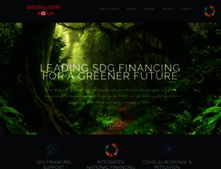 geopolicity.com screenshot