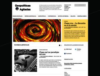 geopoliticasagitadas.com screenshot