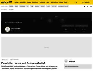 geopolityka.salon24.pl screenshot