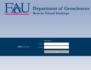 geoportal.fau.edu screenshot