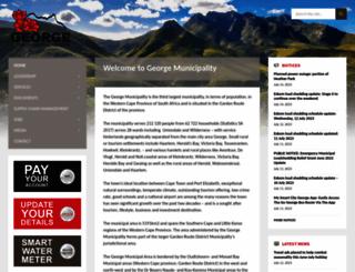 george.gov.za screenshot