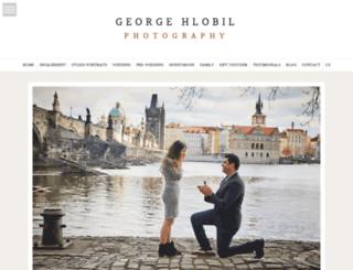 georgehlobil.com screenshot