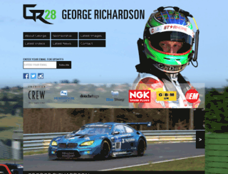 georgerichardson.com screenshot