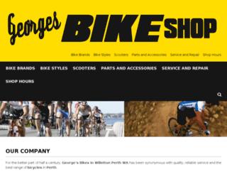 georgesbicycles.bike screenshot
