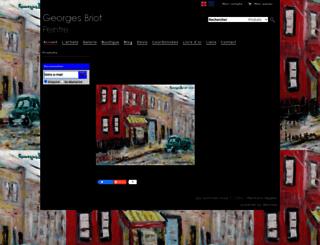 georgesbriot.com screenshot