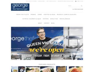 georgethefishmonger.com.au screenshot