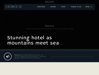 georgethethird.co.uk screenshot
