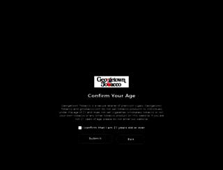 georgetowntobacco.com screenshot