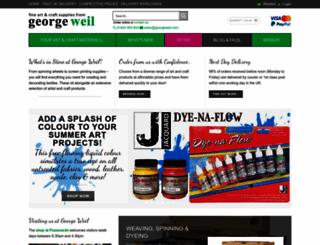 georgeweil.com screenshot