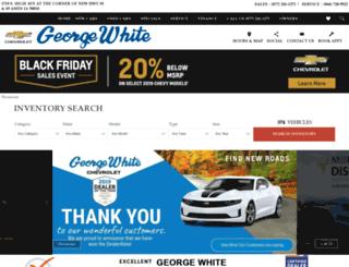 georgewhiteames.com screenshot