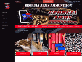 georgia-arms.com screenshot
