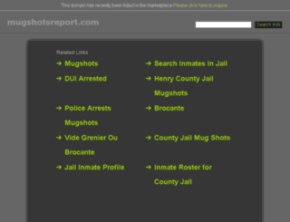 georgia.mugshotsreport.com screenshot