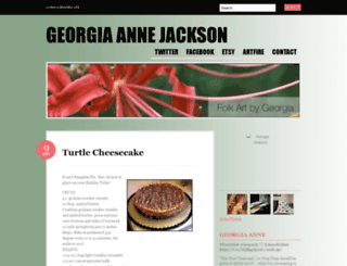 georgiaannejackson.wordpress.com screenshot