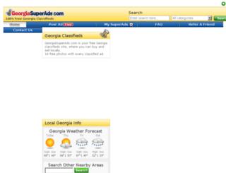 georgiasuperads.com screenshot