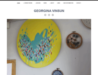 georgiepaint.com screenshot