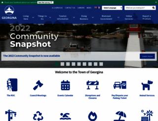 georgina.ca screenshot