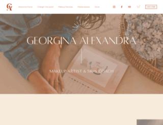 georginaalexandra.com screenshot