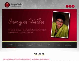 georginawalker.com screenshot