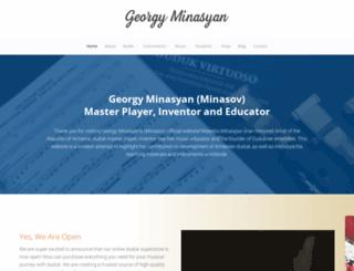 georgyminasov.org screenshot