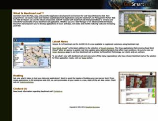 geosmart.net screenshot