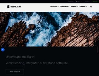 geosoft.com screenshot