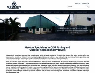 geosoninternational.com screenshot