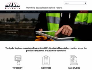geospatialexperts.com screenshot