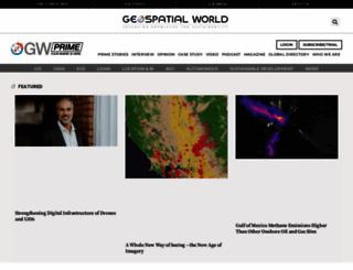 geospatialworld.net screenshot
