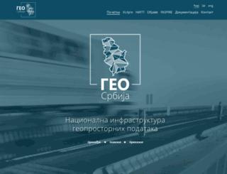 geosrbija.rs screenshot