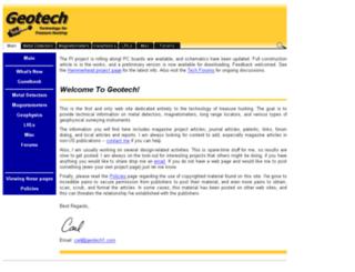 geotech1.com screenshot